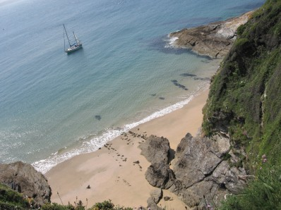 St Anthony Head beach