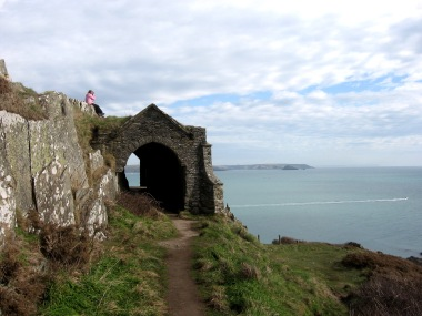 Grotto on Penlee Point