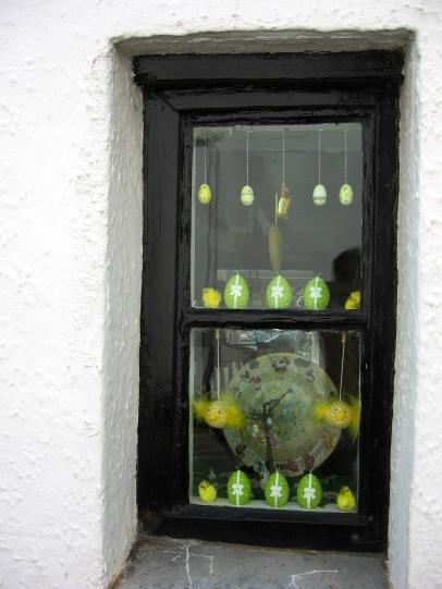 Gorran Haven Easter window