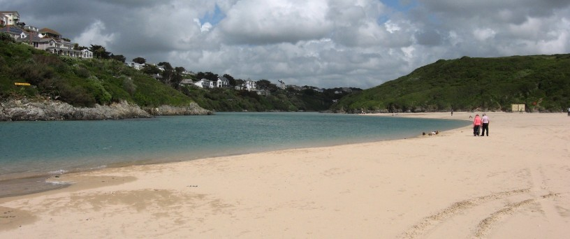 Crantock and the Gannel
