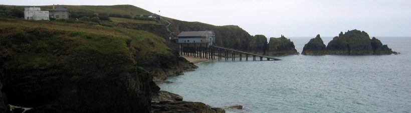 Trevose Head Lifeboat Station and Merope Rocks, Mother Ivey's Bay