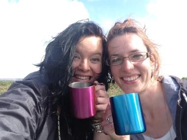walking - it's for mugs!