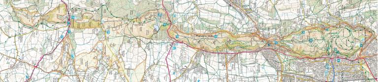 Malverns Map