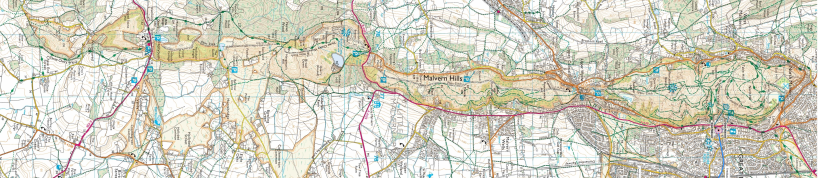 Malverns Map