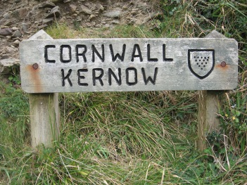 Cornwall Kernow wooden sign