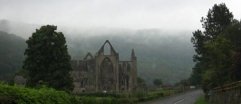Tintern Abbey ruins